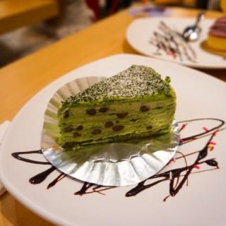 抹茶紅豆千層蛋糕  - 位於鑽石山的滿屋廚房 (鑽石山) | 香港