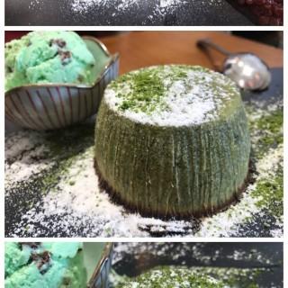 綠茶心太軟紅豆配薄荷朱古力雪糕 - 位於天水圍的一糖 (天水圍) | 香港