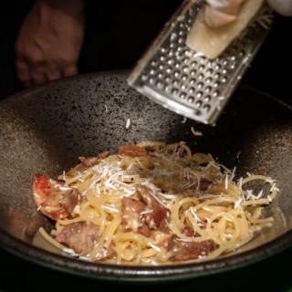 spaghetti carbonara - ใน上環 จากร้านil Bel Paese is Casa Rinaldi (上環)|ฮ่องกง