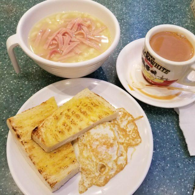 早餐西煎雙蛋火腿通 - 瑞士咖啡室 - 港式 - 樂富 - 香港