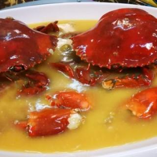 花雕雞油蛋白蒸羔蟹 - 位於觀塘的嘗聚一刻 (觀塘) | 香港