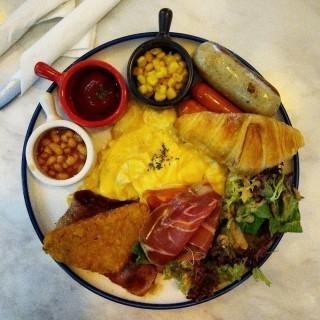 All day breakfast - 位於荃灣的白宮咖啡室 (荃灣) | 香港