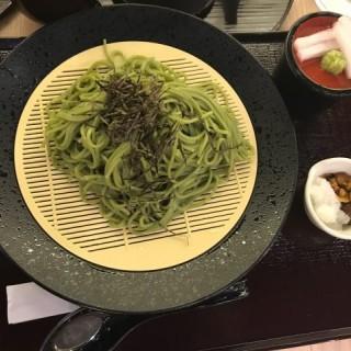 抹茶蕎麥麵 - 位於太古的京林屋 (太古)   香港