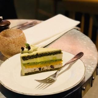 綠茶紅豆慕絲蛋糕 - 位於葵芳的Simplylife Cafe (葵芳) | 香港