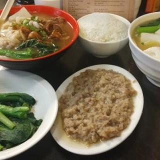 雲吞牛腩河粉、魚旦麵、土魷蒸肉餅 -  沙田 / Shing Kee Noodles (沙田)|香港
