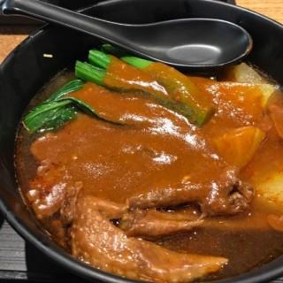 雞翼尖 羅白 流心蛋 油麵大辣 - 位於元朗的永年士多 (元朗) | 香港