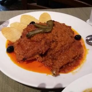 African Chicken (Half) -  dari Restaurant Litoral (下環) di  |Macau