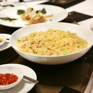 泰式蝦頭油雞粒炒飯 -  dari Man Ho Chinese Restaurant (路氹城) di  |Macau
