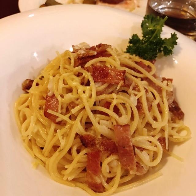卡邦尼意粉 - The Red House - Steak House - Santo Antonio - Macau