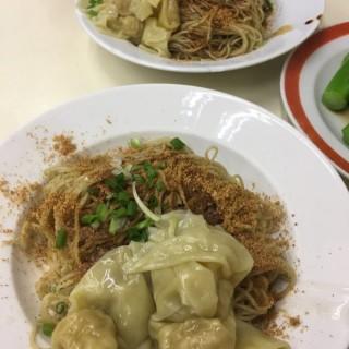 雲吞蝦籽麵 -  dari Loja Sopa De Fita Cheong Kei (新馬路) di 新馬路 |Macau