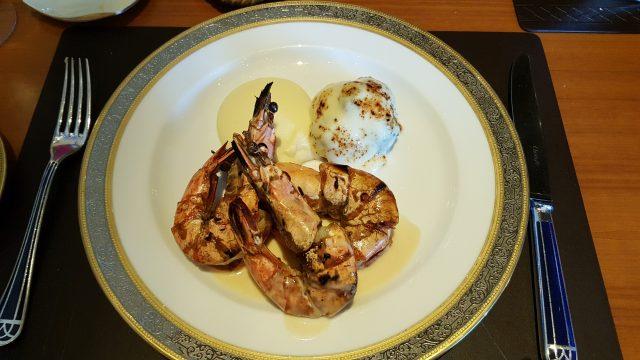 扒虎蝦配法國甜白酒汁 (行政午餐) - 大廚 - 浪漫情調 - 南灣 - 澳門
