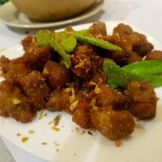 凍蝦,泥茸帶子,金華玉樹雞 -  dari Lai Kei Restaurant (新馬路) di 新馬路 |Macau