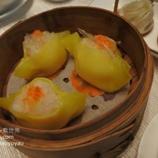 極品魚翅燕窩帶子餃 - ใน จากร้านOkura 28F Chinese Restaurant (路氹城)|มาเก๊า