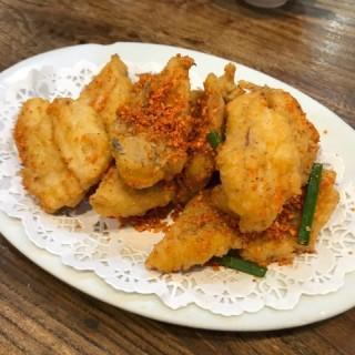 椒鹽9肚魚 -  dari Fei Chai Man Mei Sek (氹仔舊城區) di  |Macau
