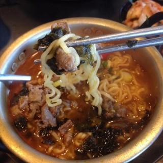 Ramyun Bulgogi Beef noodle - Bandar Sunway's The Street Café (Bandar Sunway)|Klang Valley