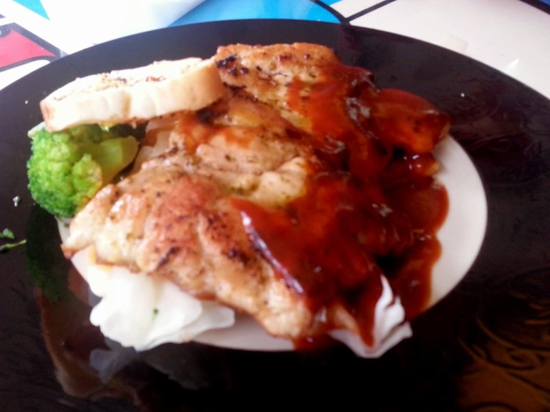 Grilled chicken chop set happy chef western foods photo in happy chef western food forumfinder Images